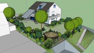 3D Hausgarten
