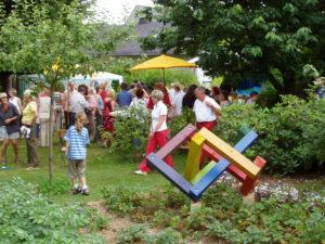 Viele Besucher am Tag der offenen Gartenpforte