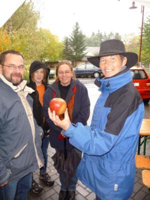 Der Apfel steht im Zentrum des Festes