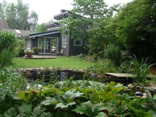 Teich am Ferienhaus